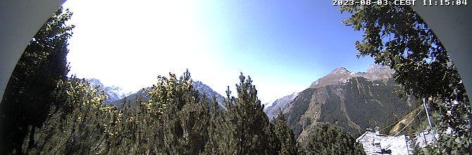 vista panoramica Gran paradiso